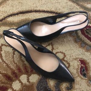 New with tags** Express Black Flats, size 6